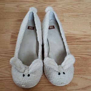 BC Bunny Wedges in Cream